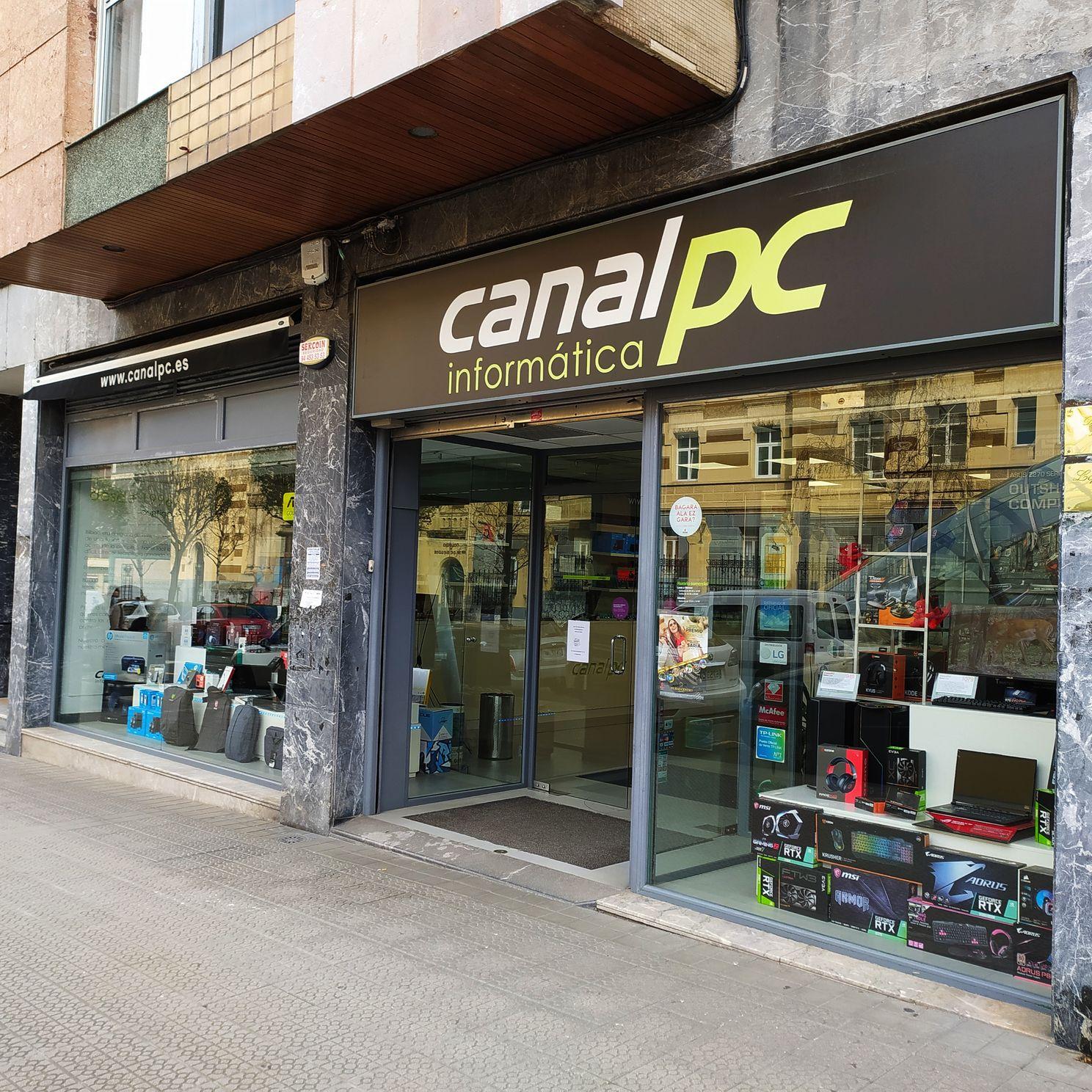 entrada tienda canalpc exterior