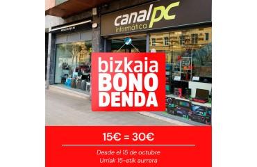 Bizkaia Bono Denda en Canal PC
