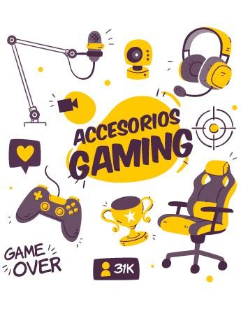 Zona gaming y para streamers